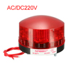 Red LED Strobe Industrial Signal Tower Stack Warning Light AC 220...