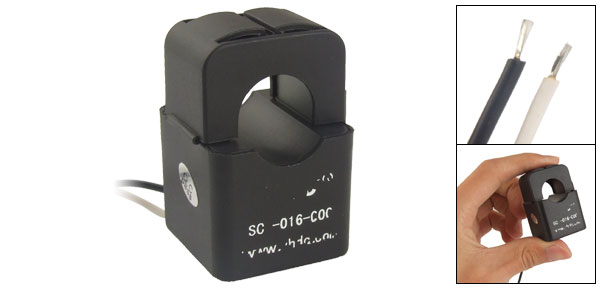 0.01-120A 0.5M Wire Split-core Current Transformer