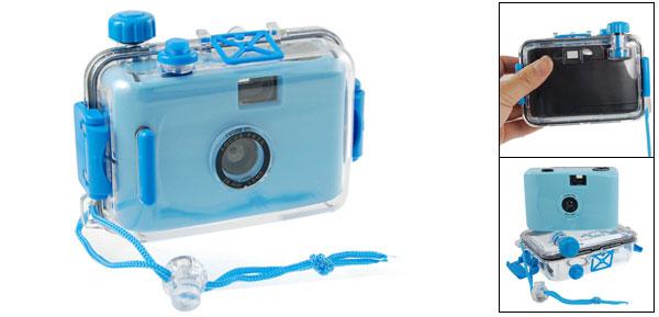 Children Blue Black Hard Plastic Waterproof Casing Fake Camera Toy