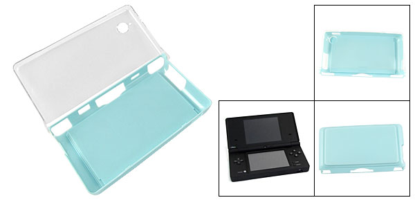 Embedded Baby Blue Drawer Plastic Case for Nintendo NDSi