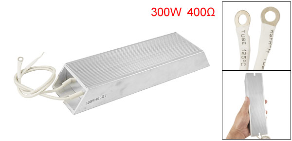300W 400 Ohm Aluminum Housed Wirewound Braking Resistor