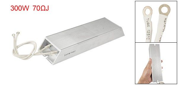 Solder Lug Terminals Wired Braking Resistor 300W 70ohm