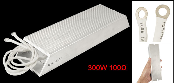 300 Watt Aluminum Housing Wirewound Braking Resistor