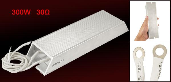 300W 30 ohm Aluminum Housed Braking Resistor Resistance