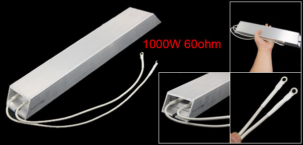 1000W 60ohm Aluminum Housed Wire Wound Braking Resistor