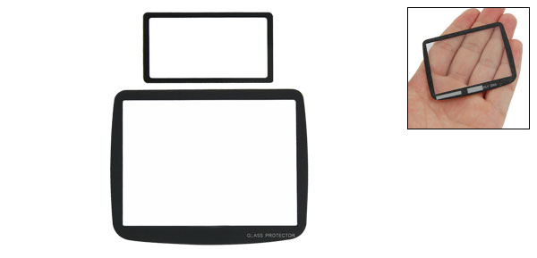 Optical Glass LCD Screen 6 Layers Protector Film for Nikon D80