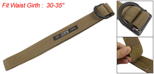 Training Slide Black Brown Detachable Fastener BeltSlide