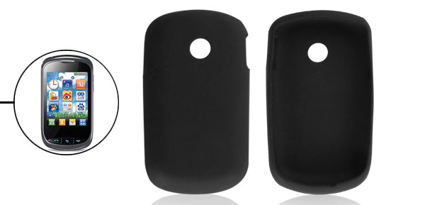 Black Silicone Skin Protective Cover Case for LG T310