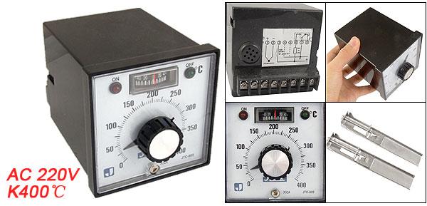 JTC-903 0-400 Celsius Knob Setting Temperature Controller AC 220V