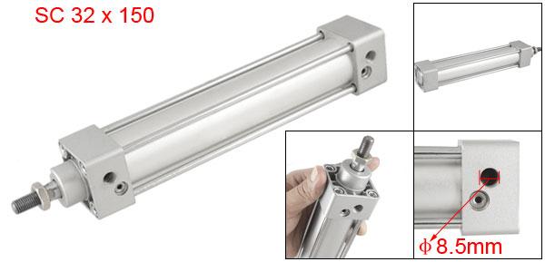 Single Thread Rod SC 32 x 150 Dual Action Air Cylinder
