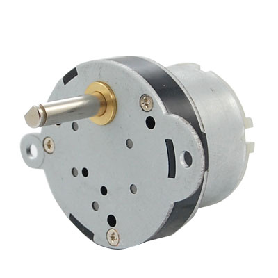 40mm-Gearbox-12V-Rated-Voltage-DC-Geared-Motor-2RPM