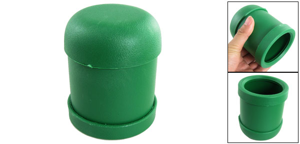 KTV Pub Casino Party Game Toy Plastic Shaking Dice Cup Box Green