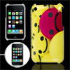 Face Expression Print IMD Back Cover Guard for iPhone 3G 3GS