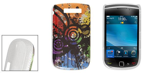 Novelty Prints Hard Plastic IMD Back Case for BlackBerry 9800