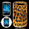 Brown Black Leopard Print Hard Cover for BlackBerry 9800