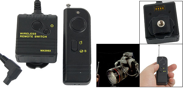 WX2002 Wireless Shutter Release for Canon 50D 40D 30D 20D 10D 1D 1DS