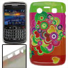 Colorful Heart Print IMD Plastic Back Cover for Blackberry 9700 9...