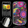 Colorful Circles Prints IMD Hard Plastic Back Case Cover for Blac...
