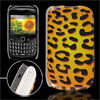Leopard Prints IMD Hard Plastic Back Case Cover for BlackBerry 85...