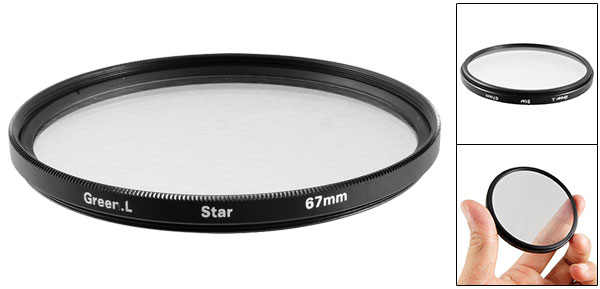 Photography Lens Protector Star 6 Effect 67mm Filter