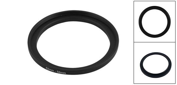52mm-58mm Camera Step up Filter Adapter Ring Holder Smxsq