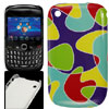 Plastic Colored Irregular Figure IMD Back Cover for Blackberry 85...