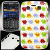 Colorful Elephant Print Plastic IMD Back Case for Blackberry 9700...
