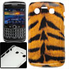 Black Yellow Tiger Print Plastic IMD Back Cover for Blackberry 97...