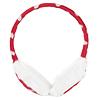 Ladies Plush Pad White Heart Print Earmuffs Ear Cover