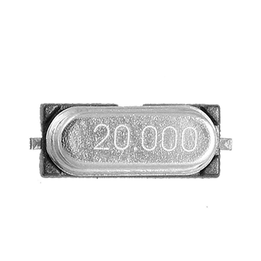 50-Pcs-HC-49S-20MHZ-SMD-Crystal-Oscillator-Low-Profile