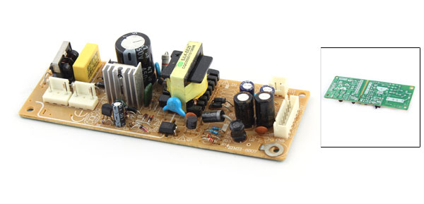 DVD Players Universal Replacement Part Power Board Green