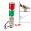 DC 24V Red Green Light Buzzer Warn Industrial Signal Tower Alarm ...