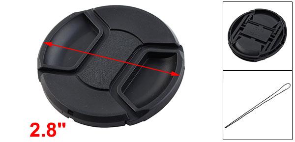 72mm Front Lens Cap Hood Cover Snap Protector for DSLR SLR Filter