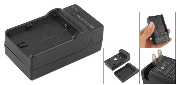 US Plug AC 100V-240V Digital Camera Black Travel Charger for Canon Battery LP-E6