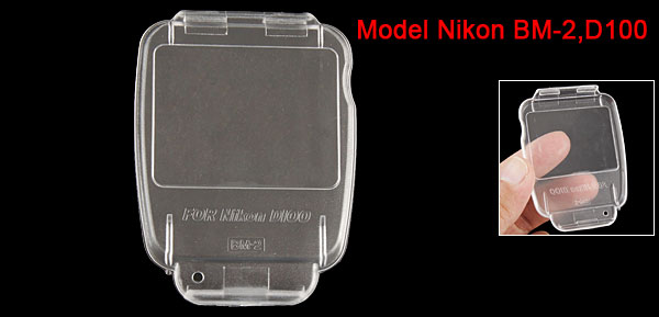 Crystal LCD Screen Hard Plastic Protector for Nikon Camera BM-2 D100