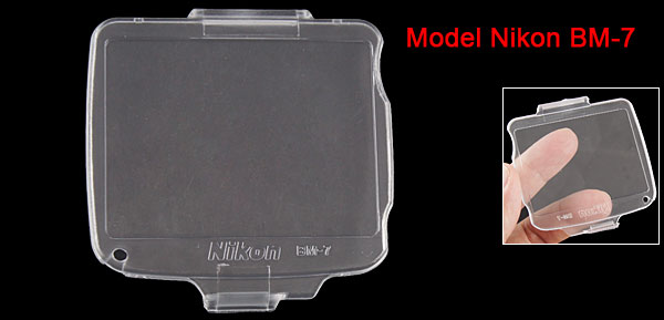 Hard Plastic LCD Monitor Cover Crystal for Nikon Camera BM-7