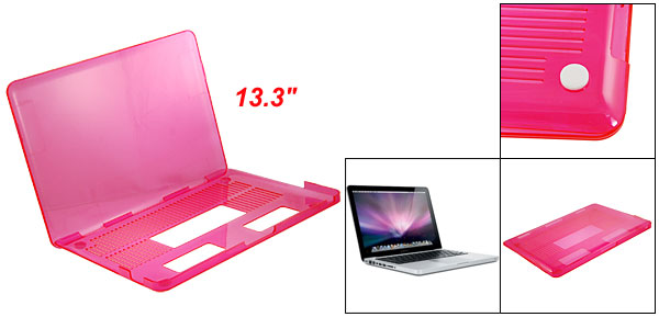 Pink Crystal Hard Plastic Case Cover for Apple Macbook Pro 13