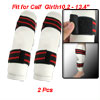 2 Pcs Hook and Loop Closure Taekwondo Shin Protectors Guards
