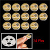 14 Pcs Cosmetic Face Care Compressed Facial Mask for Ladies