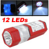 Camping 2-LED 4-LED 6-LED 3 Modes AAA Batteries Powered Red Plast...