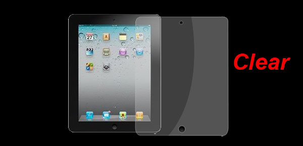 Protective Clear Screen Guard Film for Apple iPad 2G
