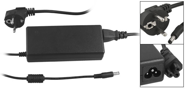 Laptop EU Plug AC Power Adapter 19V 4.74A for Asus K51AC G50VT X80H