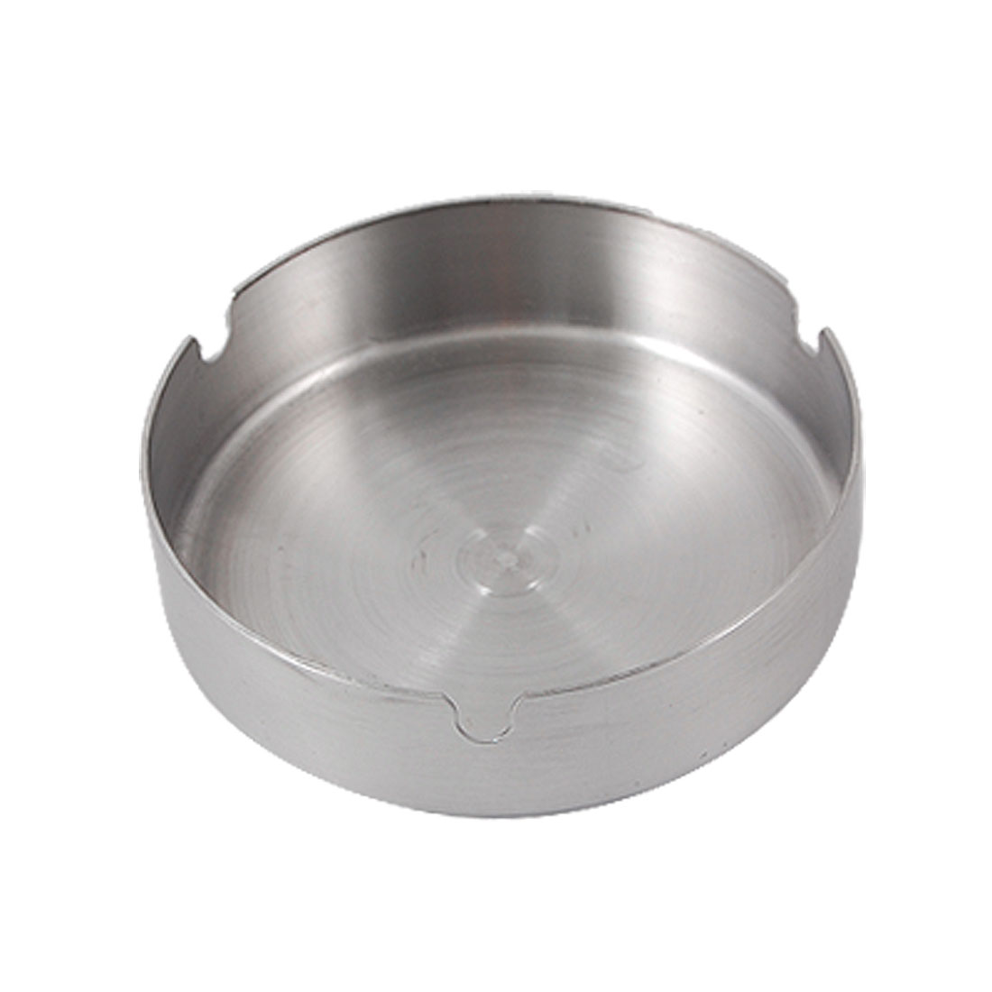 Home-Office-Flat-Bottom-Round-Stainless-Steel-Cigaretter-Ash-Holder-Tray