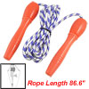 "Plastic Handle Blue White 86.6"" Length Fitness Exercise Jumping S..."