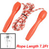 Red White Stripe Decor Keep Health Exercise Skipping Rope 2.2M