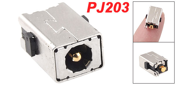 PJ203 1.65mm Center Pin DC Power Jack Connector for ACER Laptops