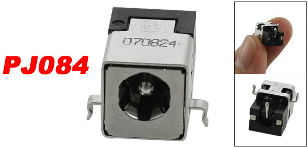 PJ084 1.65mm Center Pin DC Power Jack Adapter for Compaq