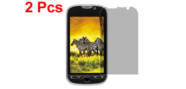 2 Pcs Protective Privacy LCD Screen Guard Film for HTC My Touch 4G