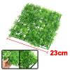 "9.1"" x 9.1"" Aquatic Green Square Artificial Grass Plant Lawn for ..."