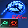 5M 16.4ft 150 LEDs 5050 SMD Bulbs Waterproof RGB Light Strip DC 1...